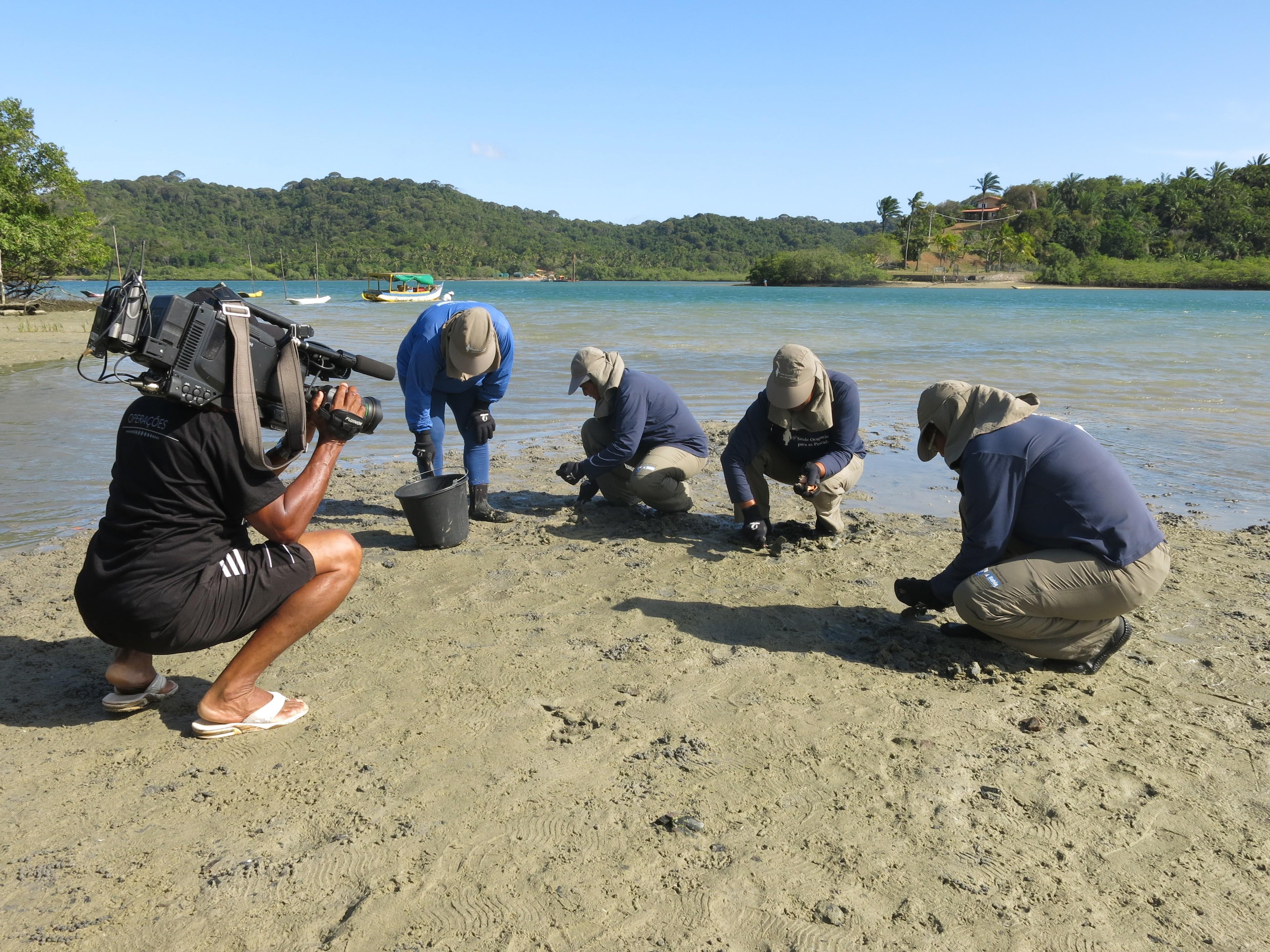 Marisqueiras da Ilha de Bom Jesus dos Passos: cultura regional (Foto: Divulgação)