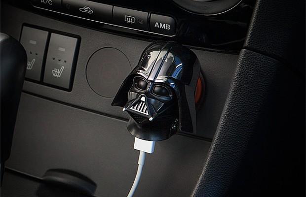 Carregador USB para carro do Darth Vader, de Star Wars (Foto: Divulgação)