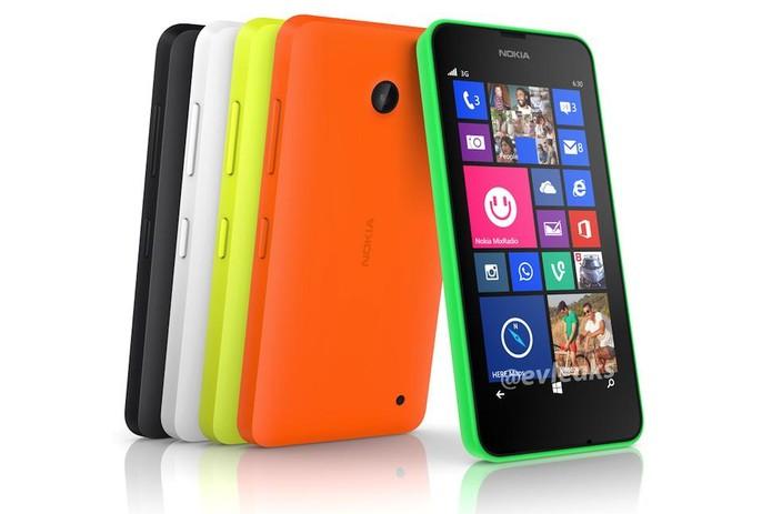 Nokia Lumia 630 deverá contar com Windows Phone 8.1 e terá uma variante dual-chip (Foto: Reprodução/Evleaks)