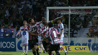 Santa Cruz vence o Campinense por 2 a 1 pelo primeiro jogo da final da Copa do Nordeste (Vitor Silva / SSPress / Botafogo)