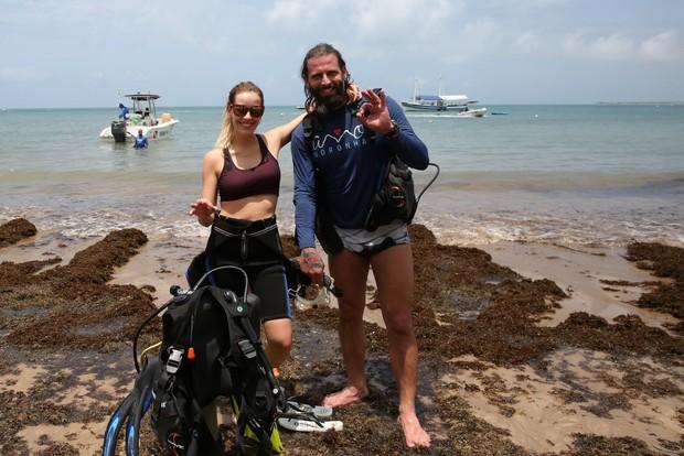 Henri Castelli e Maria Fernanda Saad (Foto: Denilson Santos/Agnews)