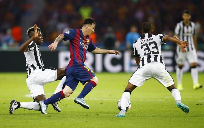 Messi - Juventus x Barcelona (Foto: Reuters)