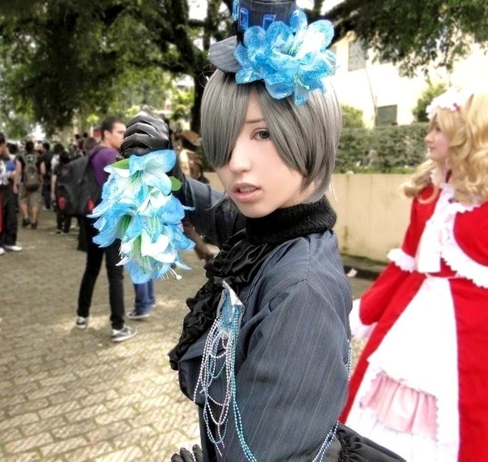 Cosplayer Renata como Shini (Foto: Acácia de Almeida/Arquivo pessoal)