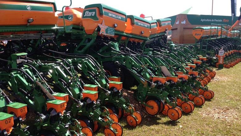 agrishow-globo-rural-máquina-agrícola (Foto: Editora Globo/ Valter Silva)