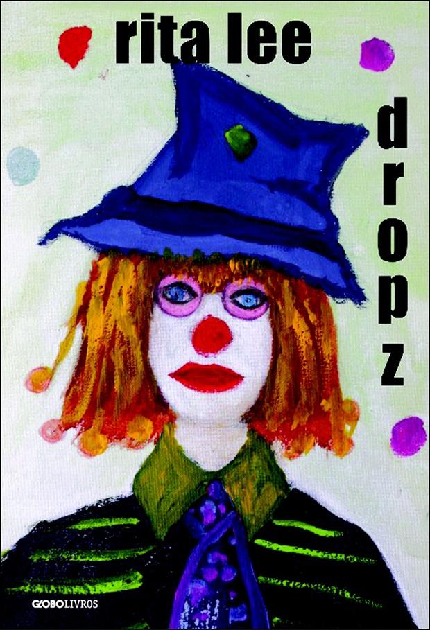 A capa do livro, criada por Rita com autorretrato pintado em 1997 (Foto: Guilherme Samora)
