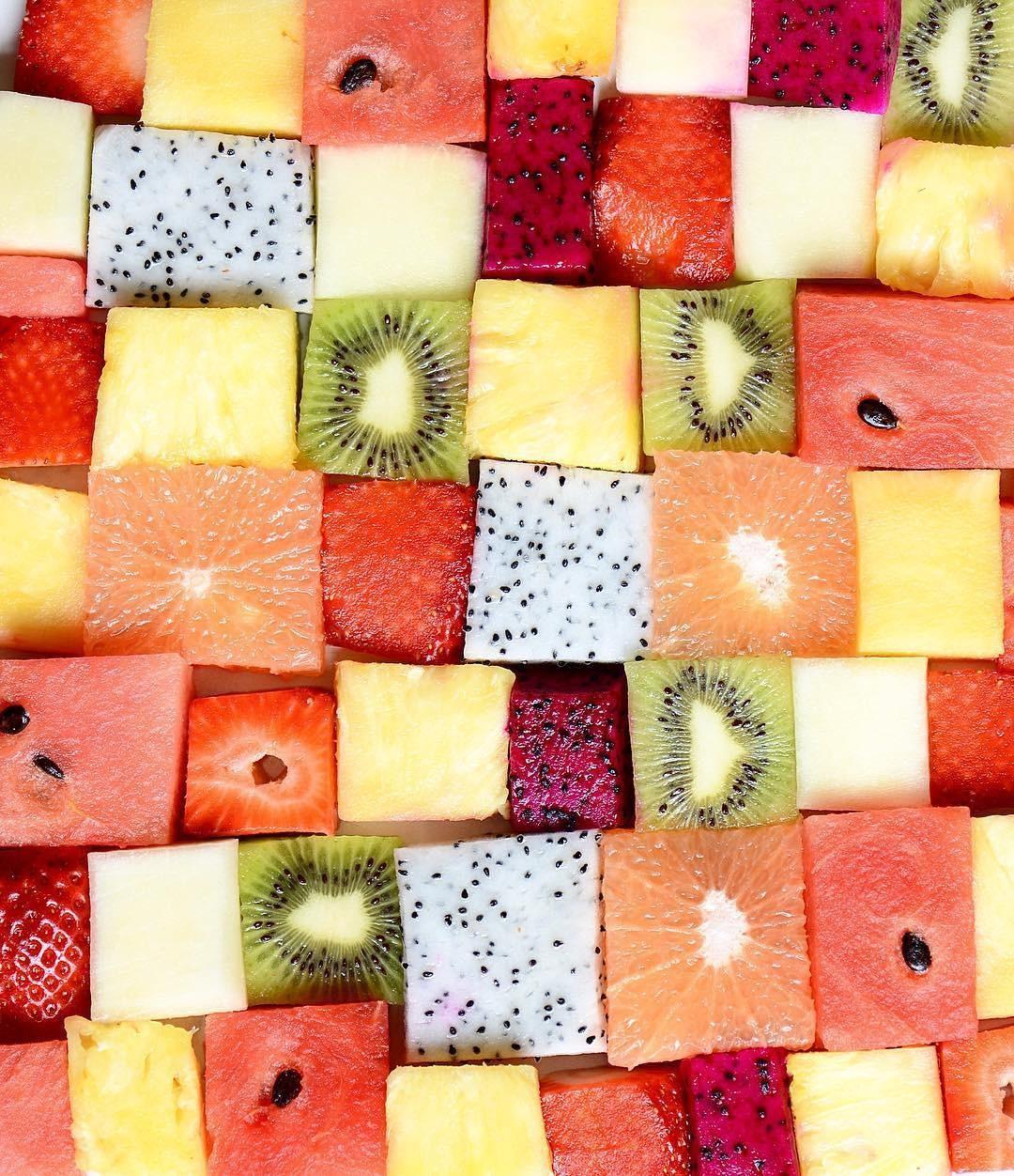 Frutas, frutas e mais frutas (Foto: Instagram/Reprodução)