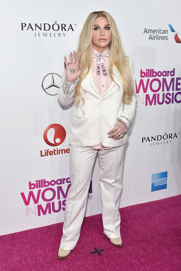Kesha no Billboard Music Awards em dezembro de 2016 (Foto: Getty Images)