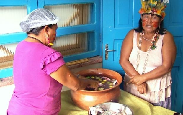 Damurida é um dos pratos indígenas mais tradicionais do estado de Roraima (Foto: Bom Dia Amazônia)