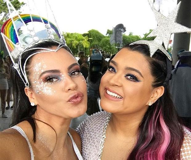 Leticia Lima e Preta Gil (Foto: Instagram)