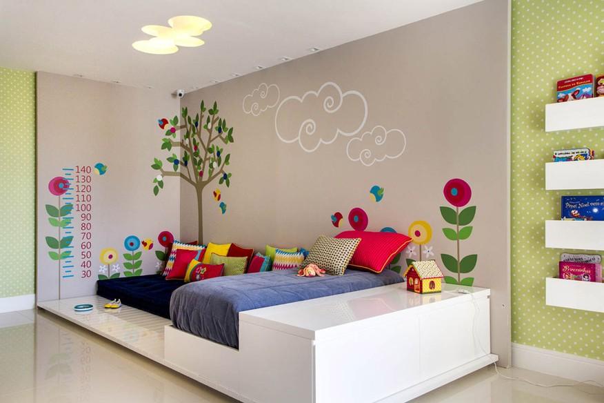 decorar ambientes pequenos gastando pouco : decorar ambientes pequenos gastando pouco:Adesivo de parede é boa opção para decorar o quarto das crianças