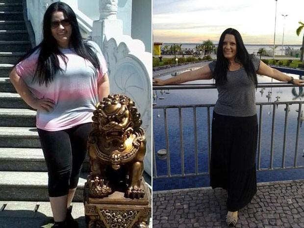 A professora de dança do ventre Monica Holanda emagreceu mais de 20 quilos em 6 meses (Foto: Arquivo pessoal/Monica Holanda)