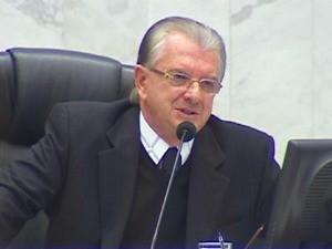 Ex-presidente da Alep Nelson Justus (Foto: Reprodução RPC TV)