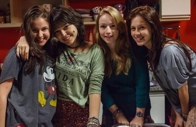 Clara Tiezzi, Bella Camero,  Malu Rodrigues e Sophia Abrahão farão a versão de 'Confissões de adolescente' para o cinema (Foto: Divulgação)