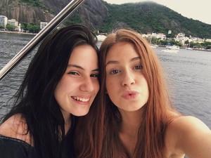 Giovanna Rispoli e Marina Ruy Barbosa (Foto: Reprodução / Instagram)