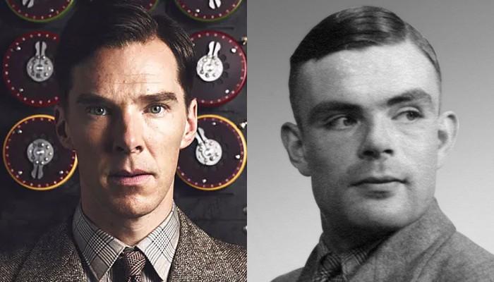 Benedict Cumberbatch e Alan Turing (Foto: Divulgação/Flickr)
