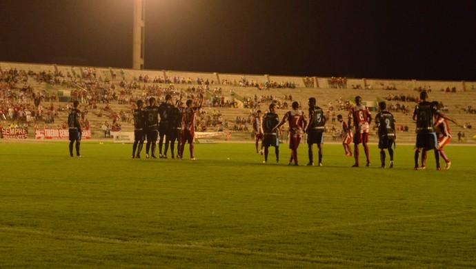CSP x Auto Esporte no Estádio Almeidão (Foto: Rammom Monte / GloboEsporte.com/pb)