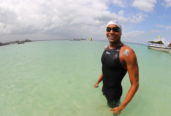 Allan do Carmo, maratona aquática (Foto: Satiro Sodré/Divulgação/CBDA)