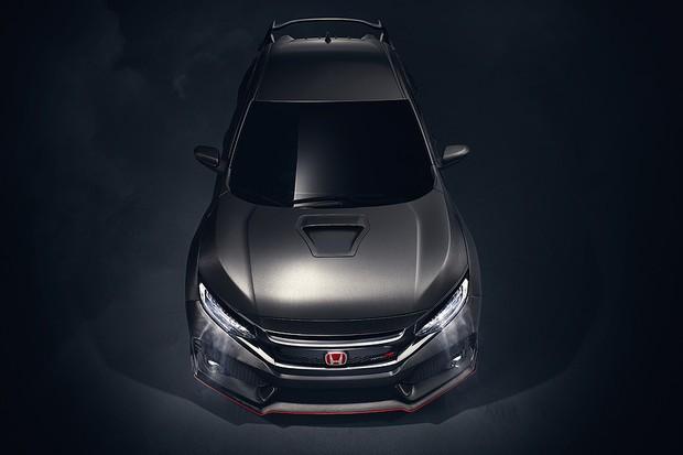Honda mostra conceito que antecipa novo Civic Type R (Foto: Divulgação)