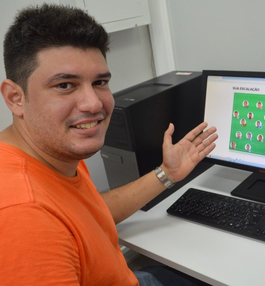 abriu o jogo (Rafael Moreira/GE-AP)