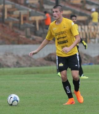 Iago Maidana Criciúma (Foto: Fernando Ribeiro/www.criciumaec.com.br)