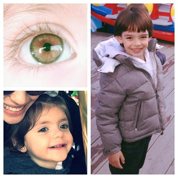 Carol Celico posta fotos dos filhos no Instagram (Foto: Reprodução/Instagram)