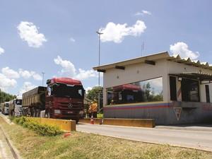 Balanças em rodovias do Triângulo Mineiro e Alto Paranaíba (Foto: Divulgação/DER-MG)