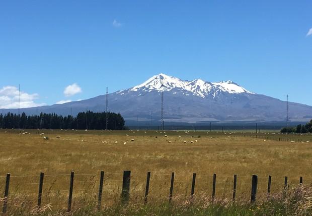 """A Nova Zelândia parece um oásis, só falta gente. Com apenas 4,6 milhões de habitantes, o país parece estar continuamente em fase de """"povoamento"""" (Foto: Divulgação)"""