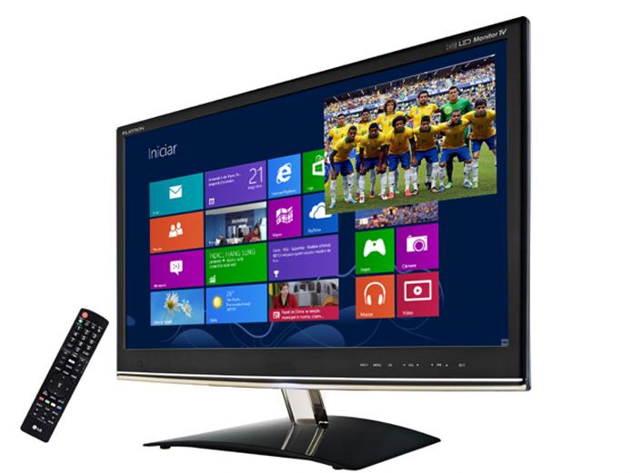 Monitor também pode ser usado como televisão (Foto: Divulgação)