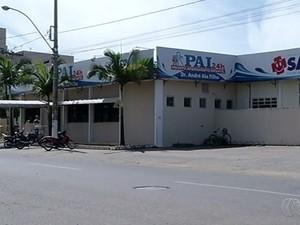 Pronto Atendimento Infantil de Caldas Novas, Goiás (Foto: Reprodução/ TV Anhanguera)