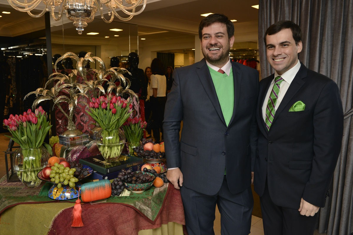Sandro Barros e Bruno Astuto (Foto:  )