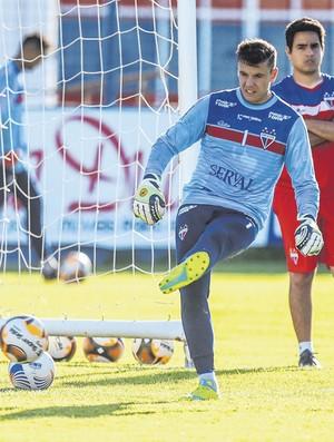 Marcelo Boeck, goleiro do Fortaleza (Foto: JL Rosa/Agência Diário)