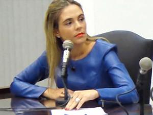 Vereadora Michele Junqueira pode ser cassado depois que o marido agrediu um parlamentar na Câmara de Orlândia (Foto: Thiago Bianco/Assessoria de Imprensa)