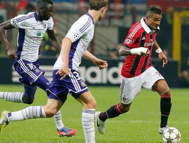Prince Boateng, Milan x Anderlecht (Foto: Ag&#234;ncia Reuters)
