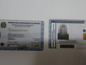 Jovem usava carteira de estagiária para atuar como advogada, diz polícia (Foto: Divulgação/Polícia Civil)