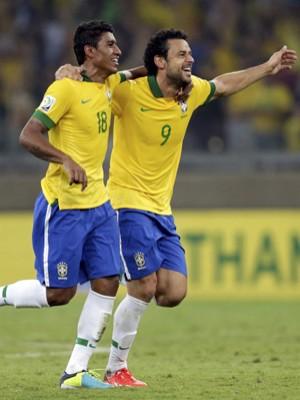 Brasil vence o Uruguai e vai à final da Copa das Confederações (Ricardo Moraes/Reuters)
