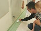 Psicóloga acha escorpião na frente do quarto do filho em hospital de Jundiaí