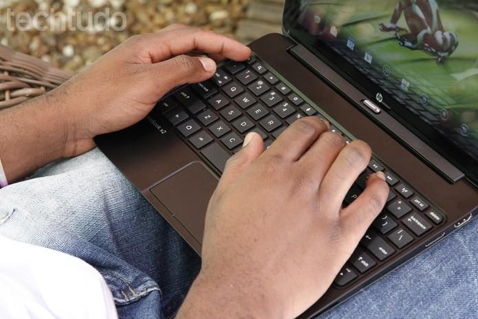 HP SlateBook x2 (Foto: Luciana Maline/TechTudo)