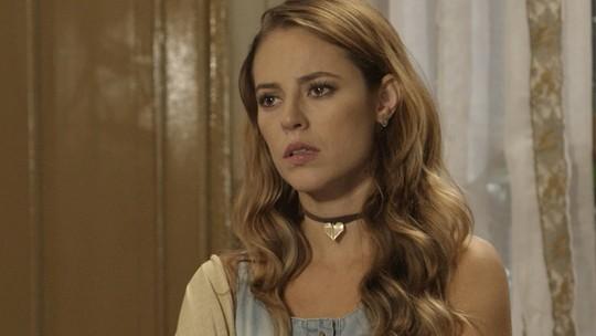 Dorotéia choca Melissa com revelação