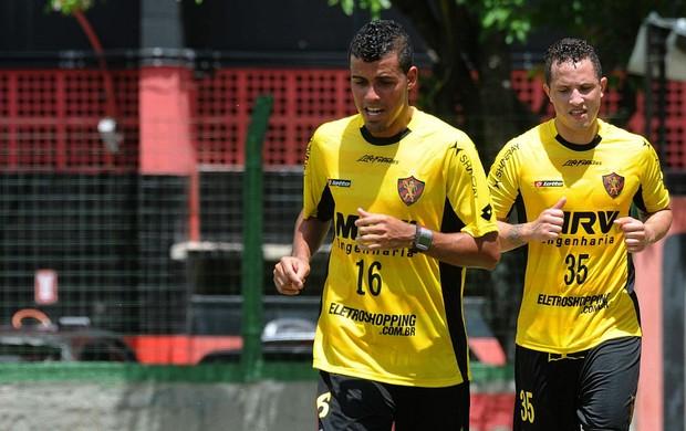 diego torres diogo oliveira sport (Foto: Aldo Carneiro / Pernambuco Press)