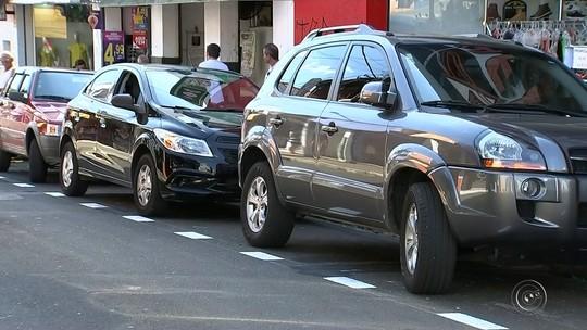 Sistema de estacionamento rotativo é implantado no Centro de Tatuí