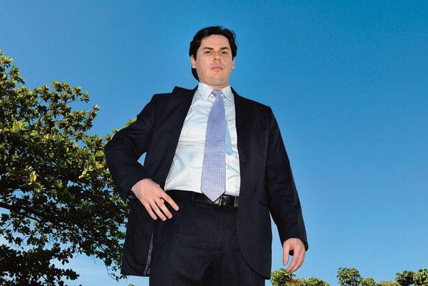 Luís Flávio Zampronha, comandante das ações da Polícia Federal no caso do mensalão. Uma diligência no arquivo do Banco Rural, em Belo Horizonte, mudou o rumo das investigações (Foto: Marcio Lima/ÉPOCA)