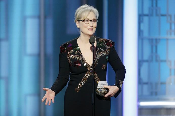 Meryl Streep, atriz, Globo de Ouro (Foto: Getty Images)