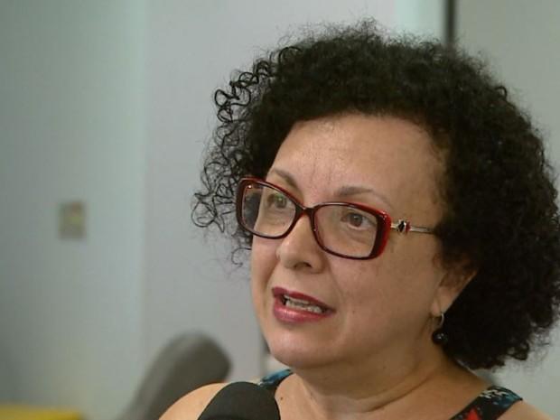 A agente de captação do Hemocentro de Ribeirão Preto, Leiva Vieira (Foto: Maurício Glauco/EPTV)