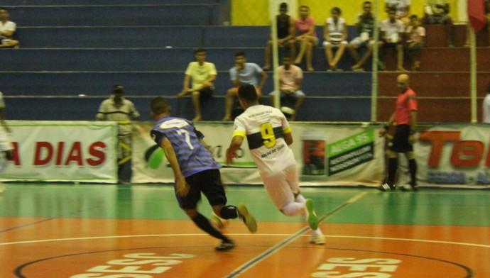 Seleção Boavistana vence Jutaí em jogo de muita velocidade (Foto: Amanda Lima)