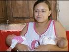 Mulher e filhas gêmeas de 20 dias são resgatadas do temporal em Pádua, RJ