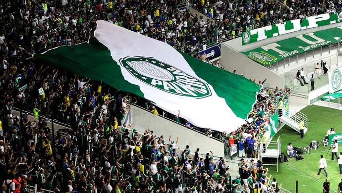 Torcida Palmeiras X Sport - Arena Palmeiras (Foto: Marcos Ribolli)