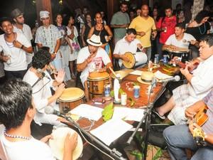 Clube do Samba promove festa no carnaval (Foto: Arison Jardim/arquivo pessoal)