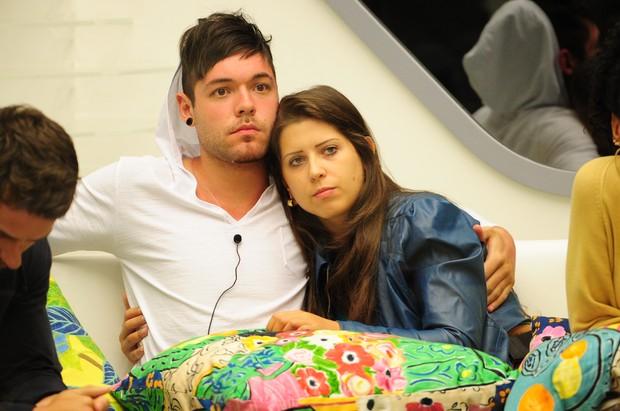 Andressa e Nasser, BBB 13 (Foto: João Cotta/TV Globo)