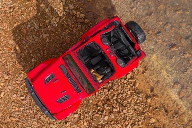 Novo Jeep Wrangler (Foto: Divulgação)