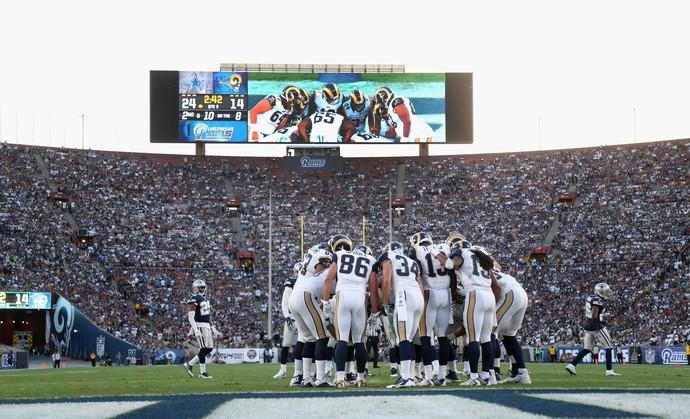 Promessa é de casa cheia para todos os jogos na volta dos Rams a Los Angeles (Foto: Getty Images)